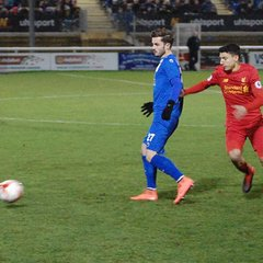 Bangor City First Team v Liverpool Under-23 - Wed, 4 Jan 2017