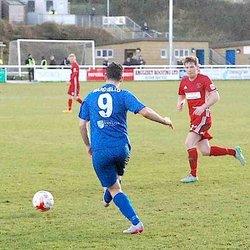 Bangor City First Team v Llandudno - Sat, 28 Jan 2017