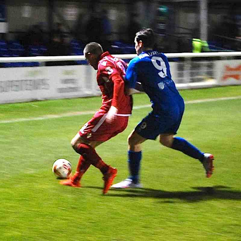 Bangor City First Team v Gap Connah's Quay - Fri, 10 Feb 2017