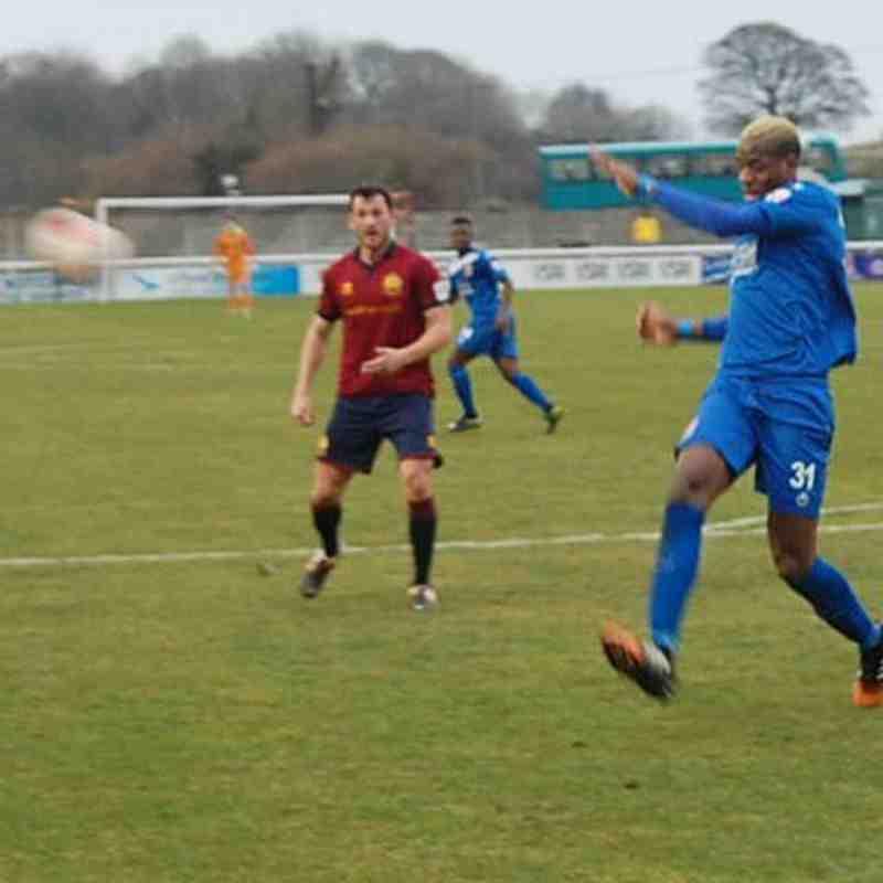 Bangor City 3-2 Cardiff Met - Sat, 18 Feb 2017