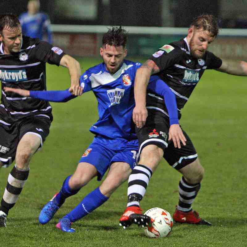 Photo Gallery: Bangor City 1-2 Bala Town (Fri, 17 Mar 2017)