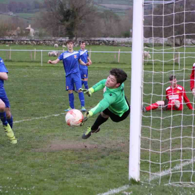 Photo Gallery: Llanrwst Reserves 1-2 Bangor City Reserves (Tue, 18 April 2017)