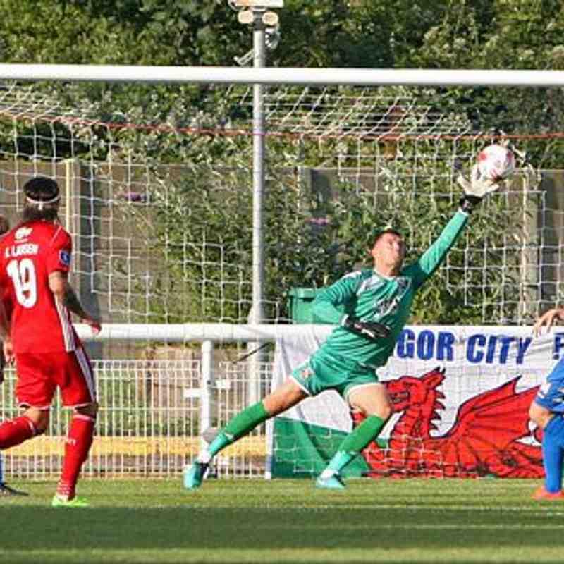 Bangor City 0-3 Lyngby BK (Thu, 6 July 2017)