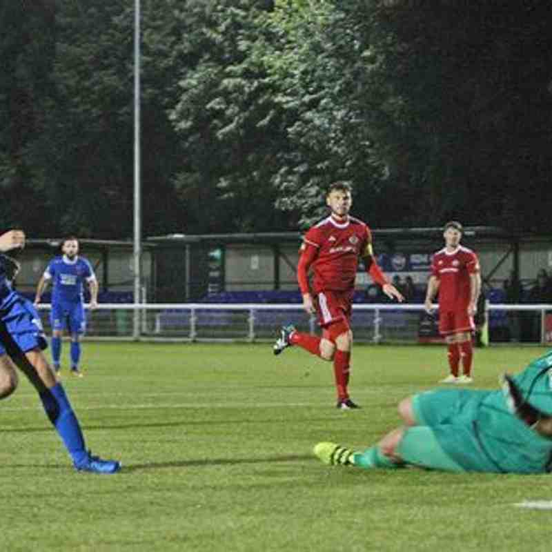Bangor City 5-2 Denbigh Town (Tue, 29 August 2017)