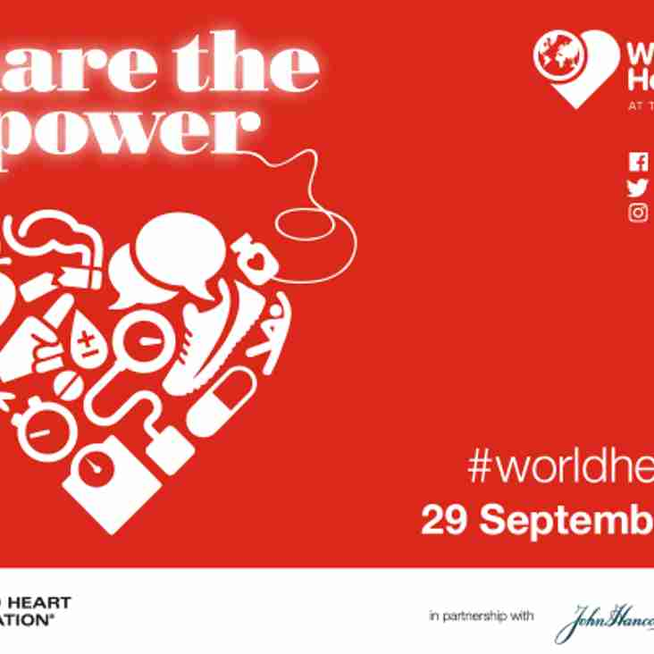 World Heart Day 2017 – Share the Power