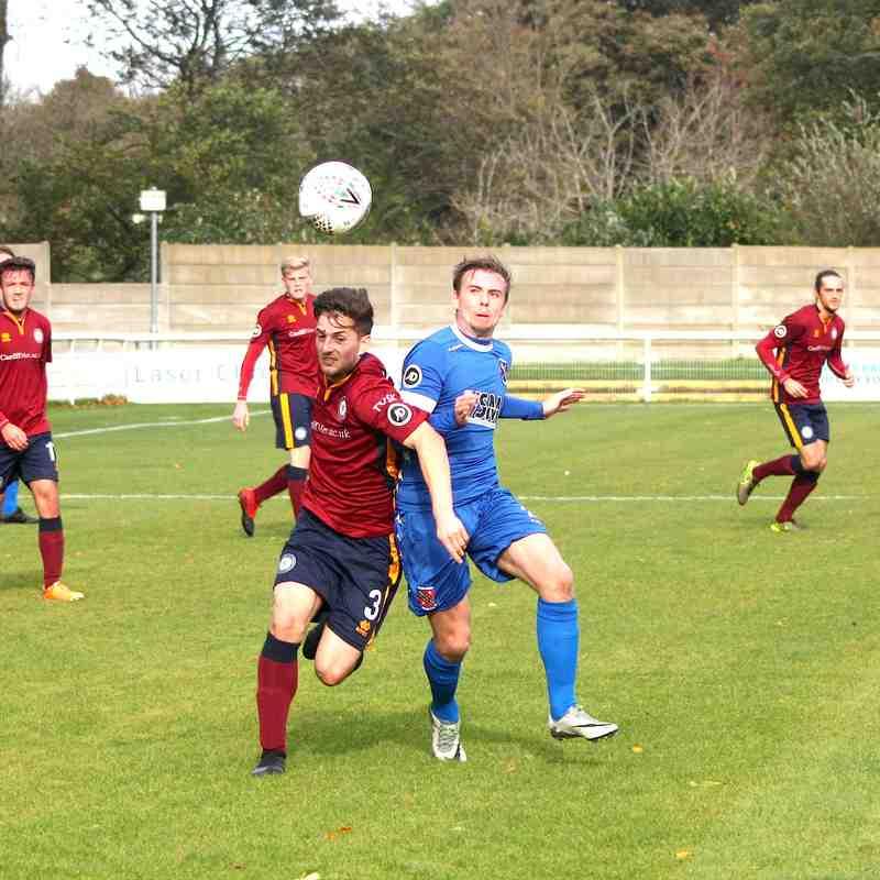 Bangor City 2-3 Cardiff Met (Sat, 14 October 2017)