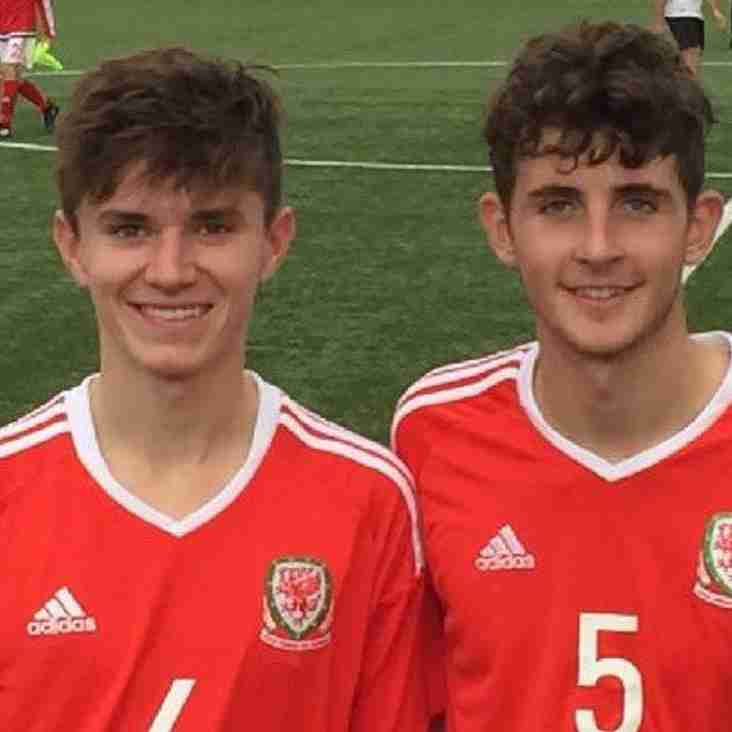Citizens Duo Selected for  Wales Under-18 Academy Friendly
