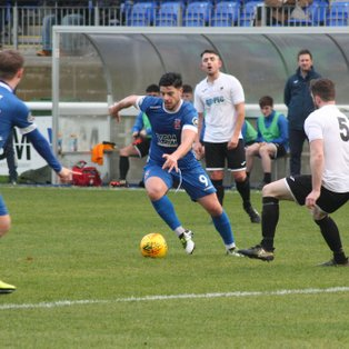 Citizens Progress in JD Welsh Cup against plucky Cwmamman United