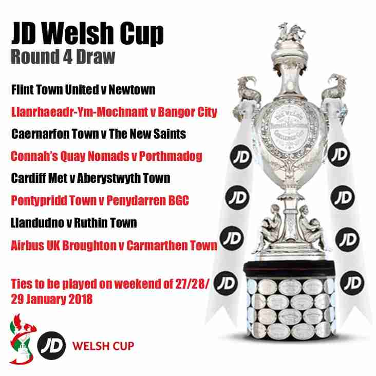 REACTION | JD Welsh Cup Round 4 Draw
