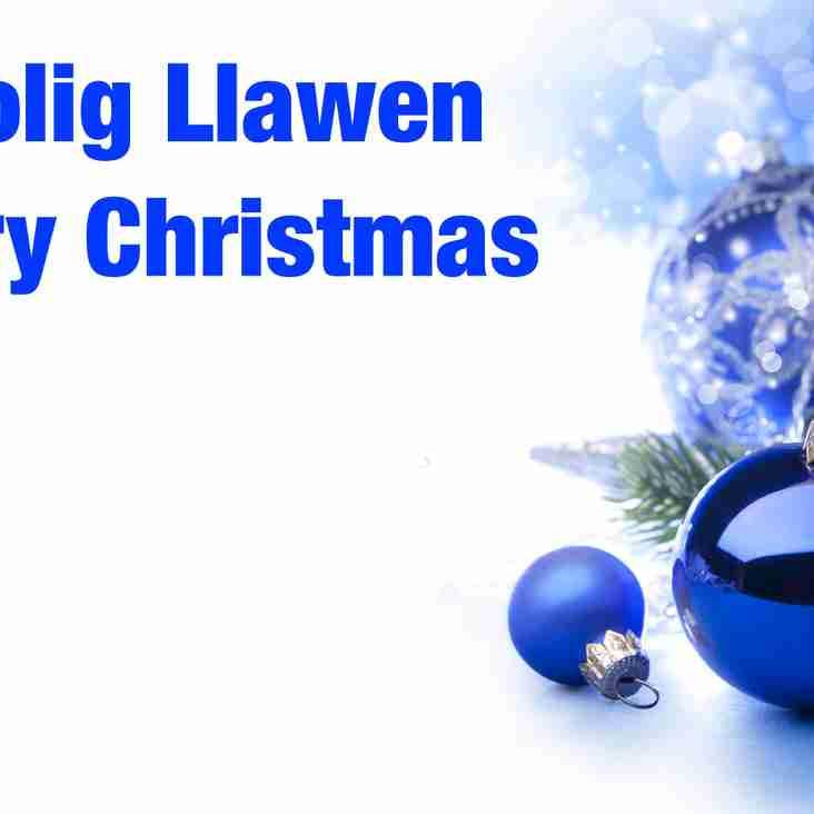 NADOLIG LLAWEN   MERRY CHRISTMAS