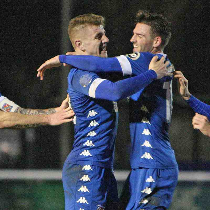 MATCH PHOTOS | Bangor City 3-1 Newtown (Fri, 5 Jan 2018)