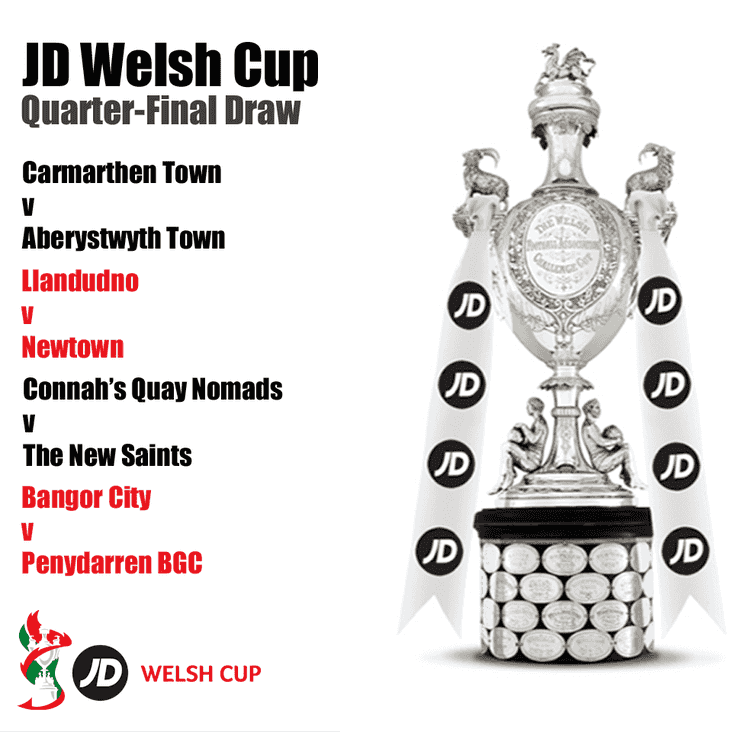 CLUB NEWS | Citizens Drawn against giantkillers in JD Welsh Cup