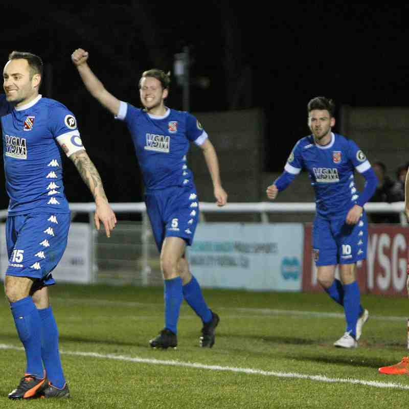 MATCH PHOTOS | Bangor City 1-0 Connah's Quay Nomads (Fri, 16 Feb 2018)