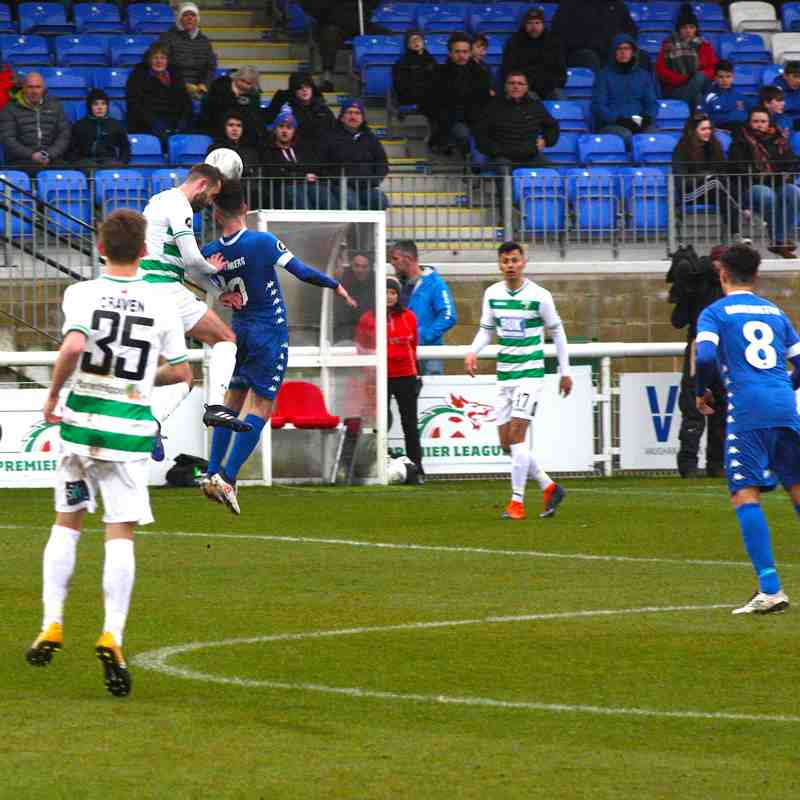MATCH PHOTOS | Bangor City 1-0 The New Saints (Saturday, 31 March 2018)