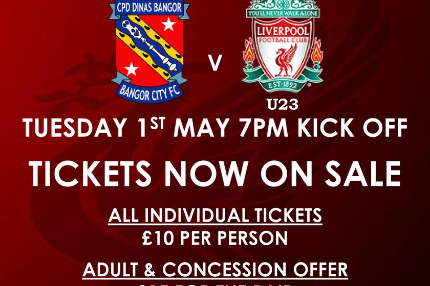 FIXTURE NEWS | Liverpool Under-23's Return to Nantporth