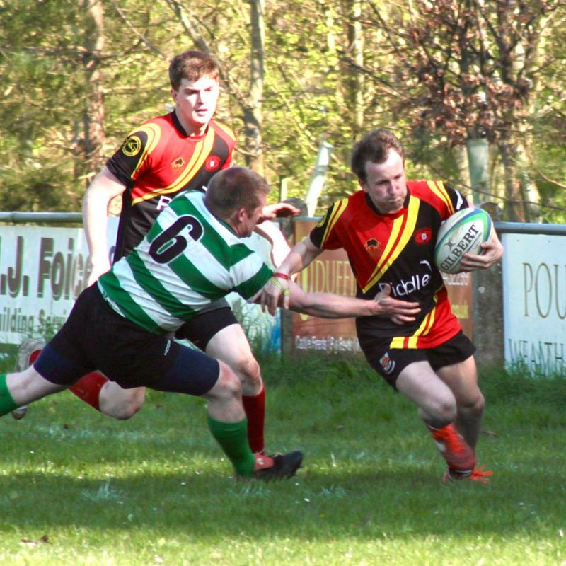 Dorchester RFC 1sts Vs Puddletown RFC Win 8 - 32