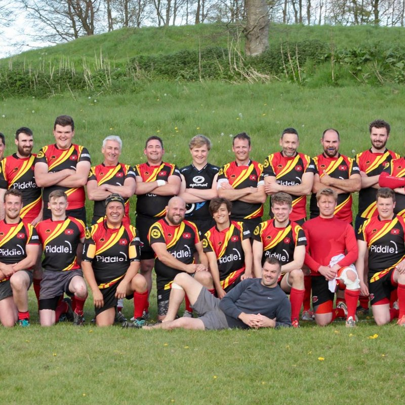 Puddletown RFC Vs Oakmedians II Win 34-0