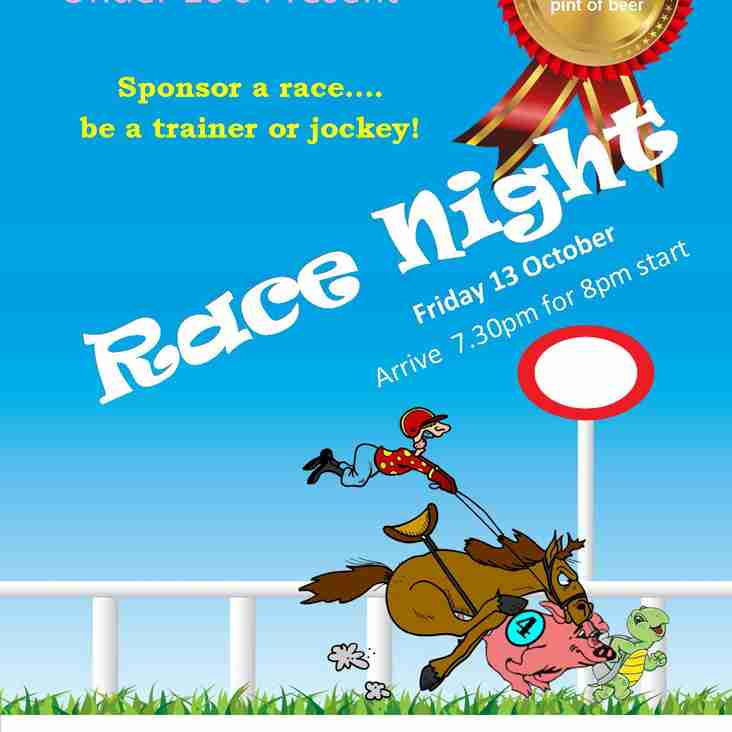 EGRFC Club Race Night - 13 October