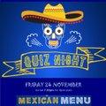 EGRFC  CLUB Quiz Night - 24th November