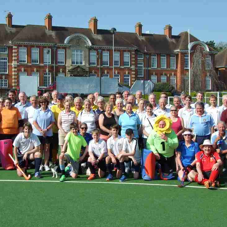 Volunteers needed urgently for Over 75 Tournament