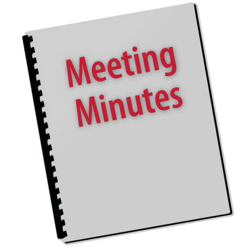 Executive Committee Meeting Minutes