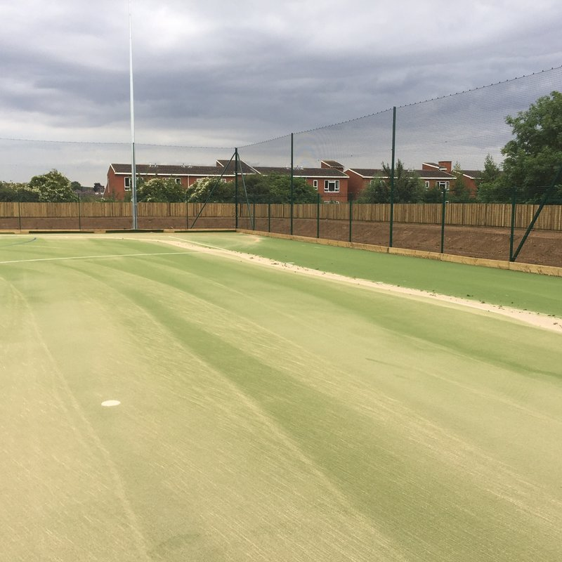 Executive Committee view pitch at Bishop Stopford