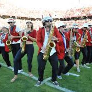 Saints go marching in