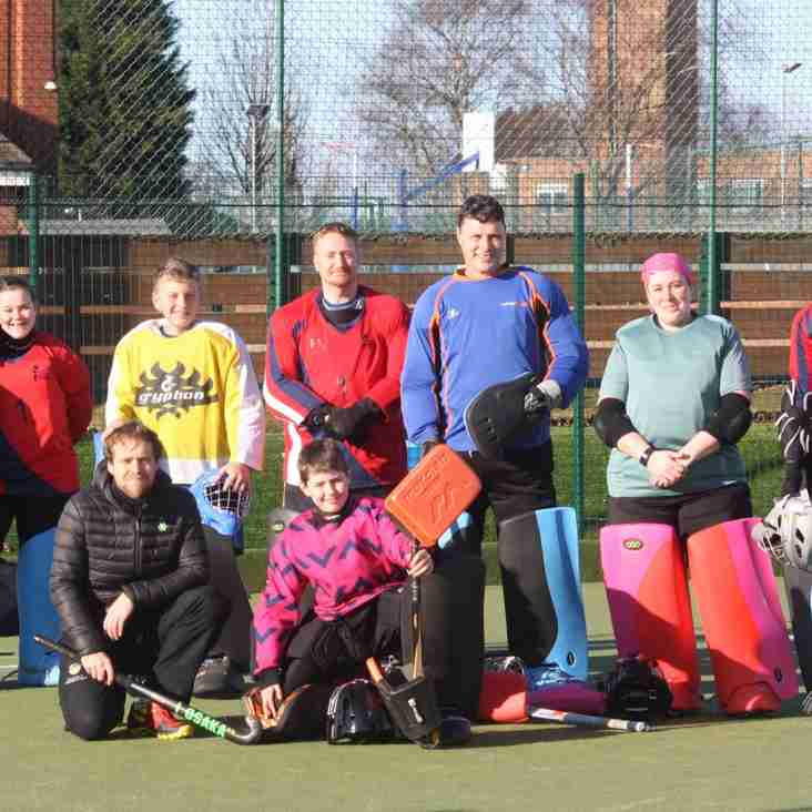 Kettering goalies put through their paces