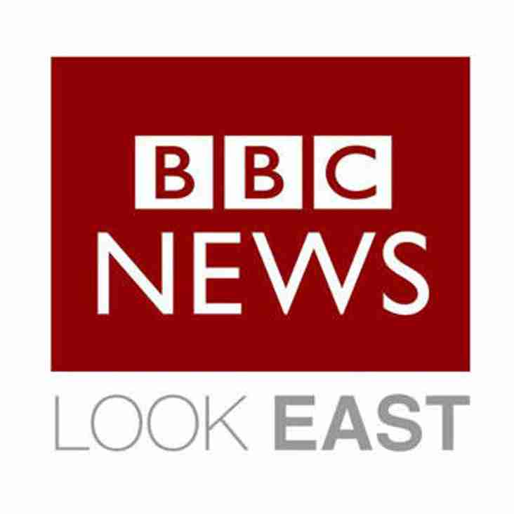 KHC will be on the telly in an hour! 645 on Look East