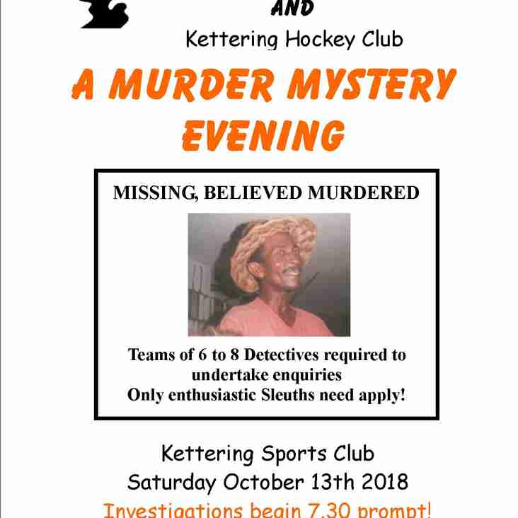 Murder Mystery - CANCELLED