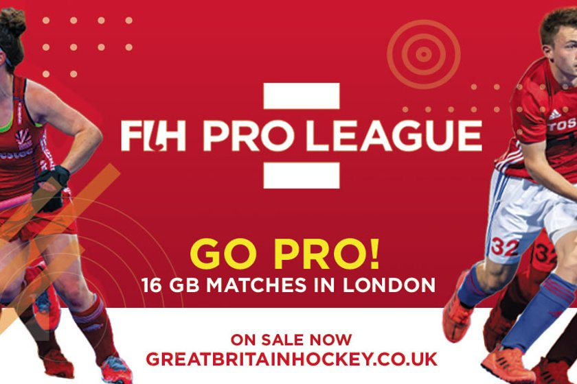 FIH Pro League - be part of the action.
