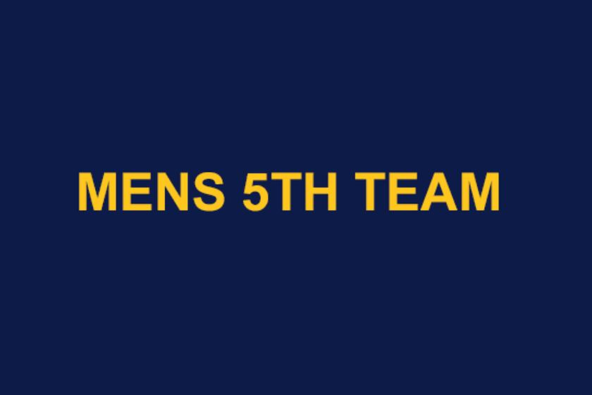 Men's 5th team.