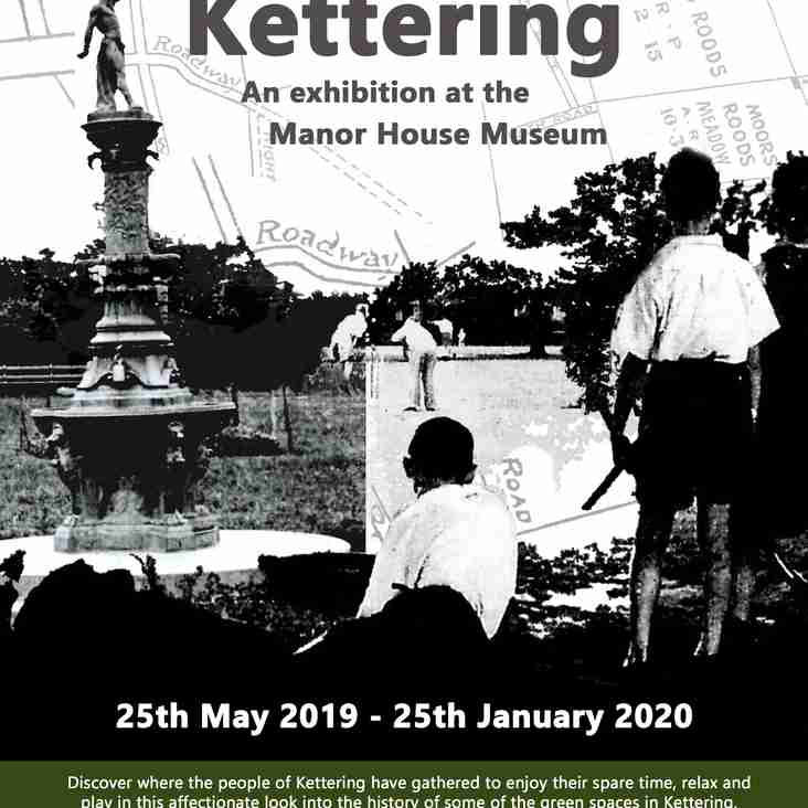 Out to Play in Kettering - an Exhibition at the Manor House Museum.
