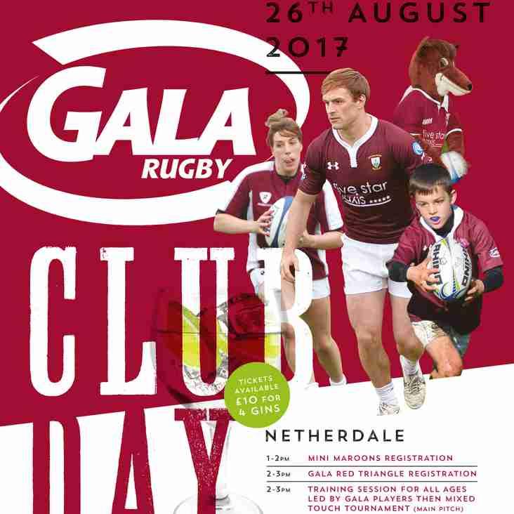 Gala Rugby Club Day