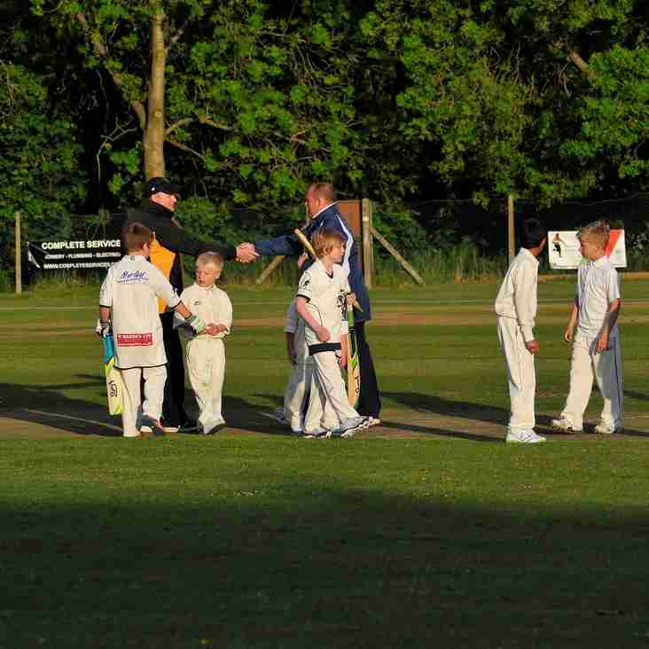 U9's A v Pudsey Congs away.Wed 27 July. Meet there 6pm