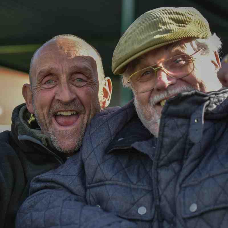 Spa fans celebrate - courtesy of David Rawlings