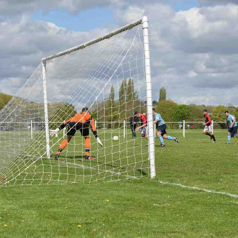 Another attack in the first half - courtesy of David Rawlings