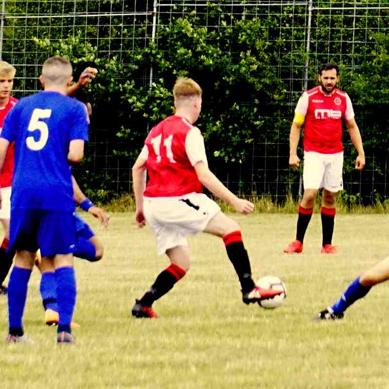 Haydn Morris vs Sikh Hunters (A) photo courtesy of Mathew Mason