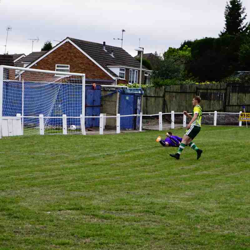 Lemon scores vs Gornal Athl (A) photo courtesy of Mathew Mason