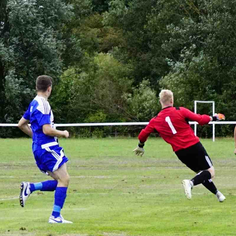 James Lemon shoots vs Darlaston Town (A) courtesy of Mathew Mason