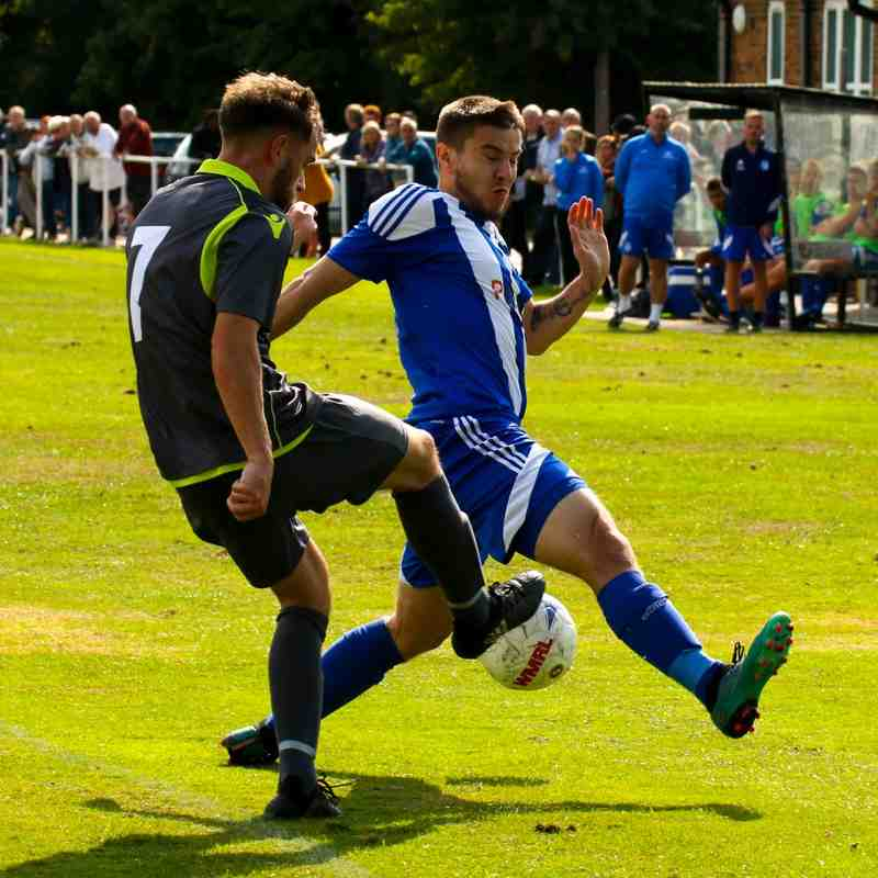 Brad Burgess vs Darlaston Town (A) courtesy of DTFC