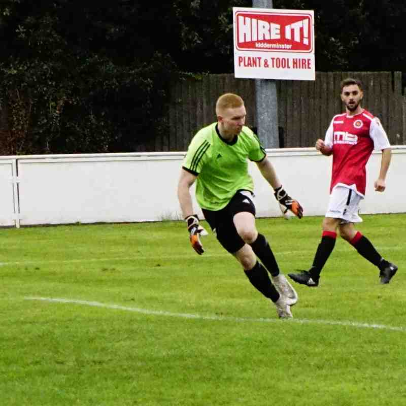 Ollie Thompson scores 1st senior goal vs Old Wulfs (H) photo courtesy Mathew Mason