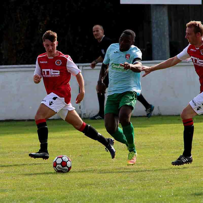 Jonny Brookes & Graeme Pardoe vs Coventry United - photo courtesy of Jeff Bennett
