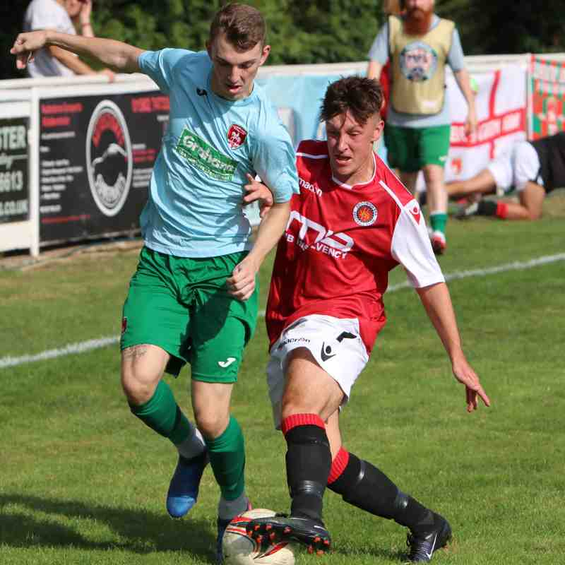 Jonny Brookes vs Coventry United - photo courtesy of Jeff Bennett