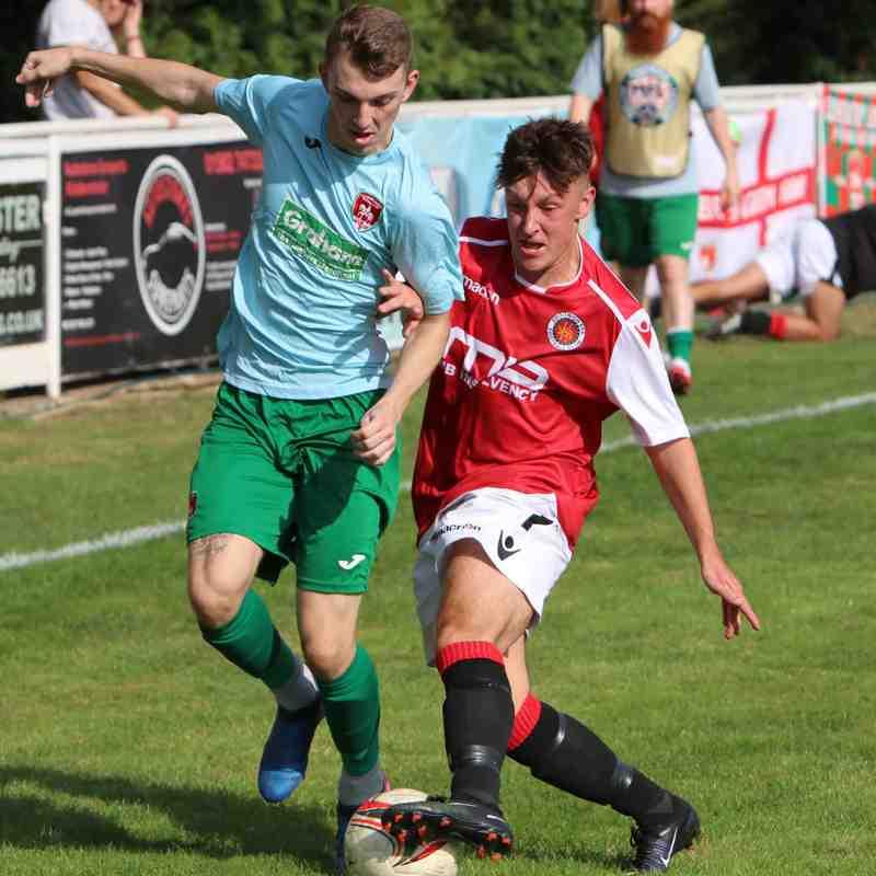 Jonny Brookes vs Coventry United - photo courtesy of Jeff Bennett