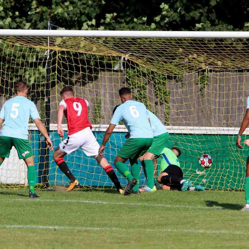 James Lemon nets his 2nd vs Coventry United - photo courtesy of Jeff Bennett