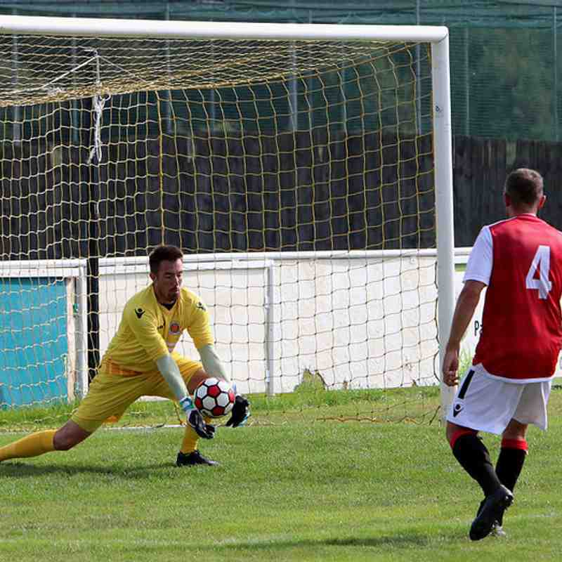 Matty Oliver saves vs Coventry United - photo courtesy of Jeff Bennett