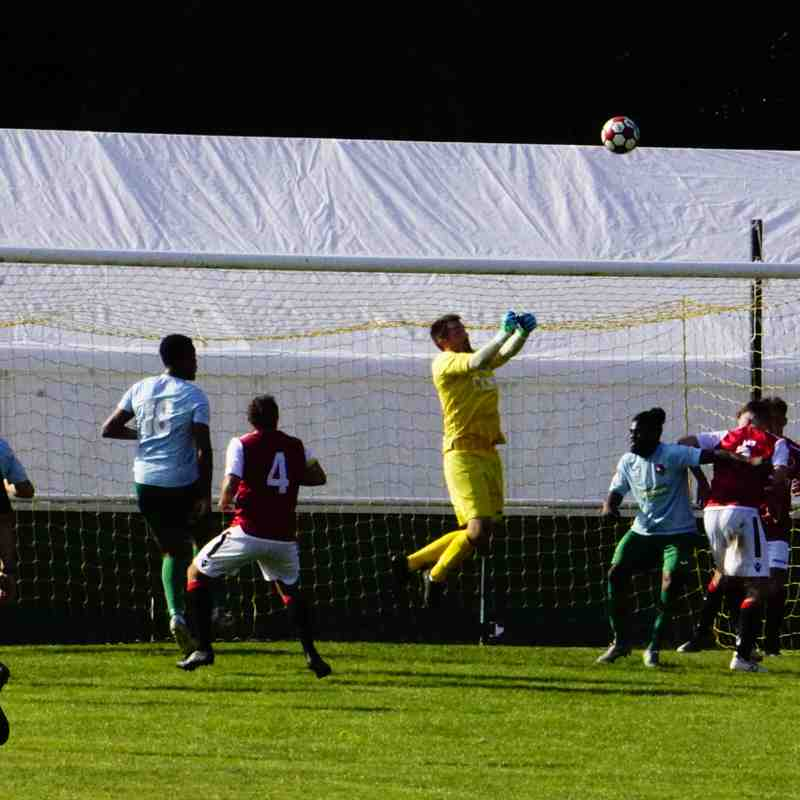 Matt Oliver saves vs Coventry United - photo courtesy of Mathew Mason