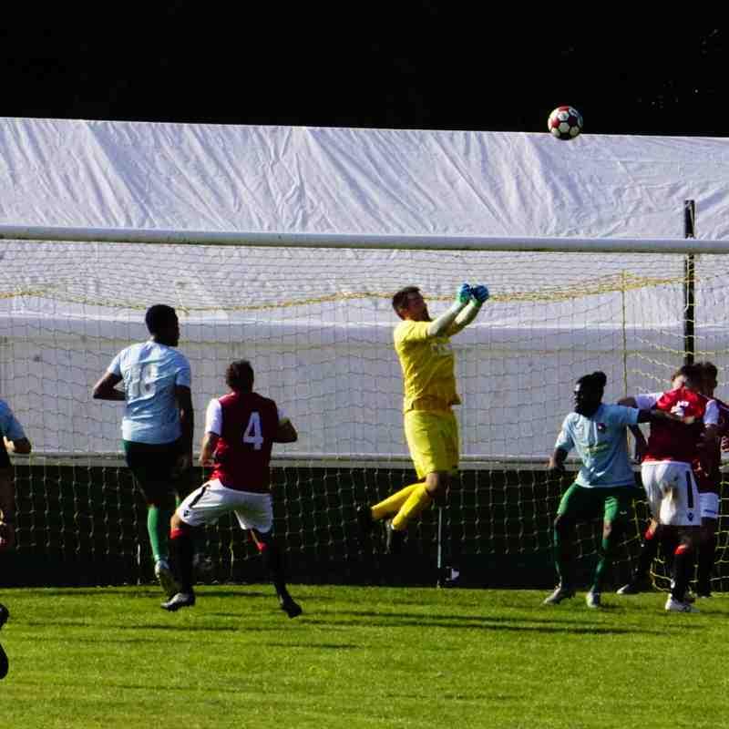 Matt Oliver saves vs Coventry United - photo courtesy of Mathew Mason