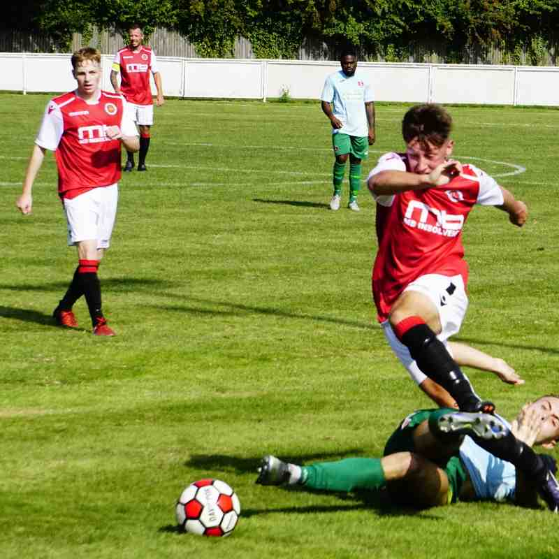 Jonny Brookes vs Coventry United - photo courtesy of Mathew Mason